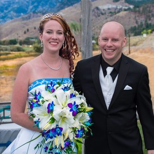 Dionne and Will's David Walley's Hot Springs Resort Wedding Photo