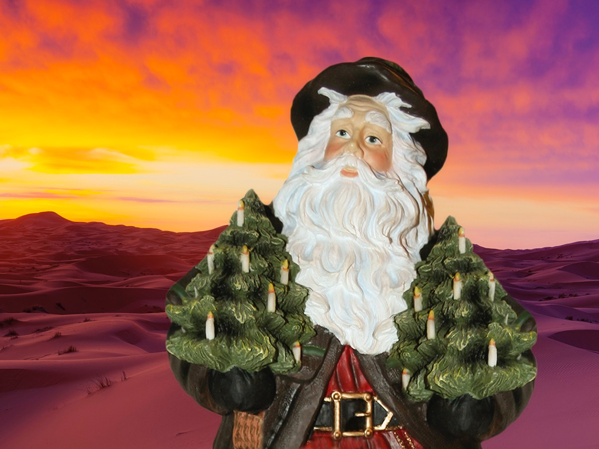 Santa in the Outback 001