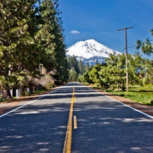 The Road to Mt. Shasta